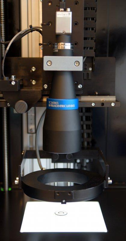Appareil de mesure de câble VCPLab - Système basé sur caméra permettant la mesure des de câbles géométries