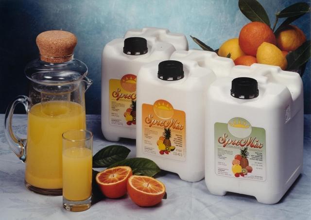 Succhi di frutta concentrati - Concentrati in tanica o Bag in Box per colazioni, ricevimenti, post-mixi