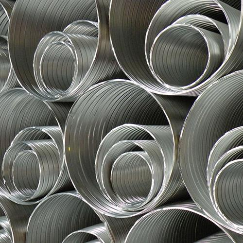 Semi-flexible aluminium duct PA-P - null