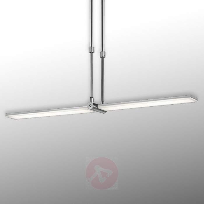 Elongated Denver LED pendant light - Pendant Lighting