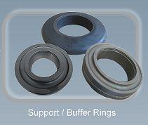 Support buffer rings