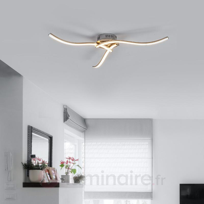 Plafonnier LED à 3 lampes Rachel - Plafonniers LED