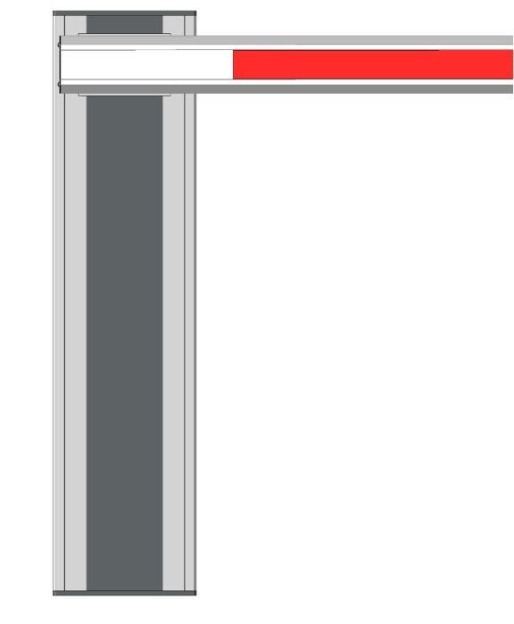 Handbediende slagboom - Manueel te bedienen slagboom 'ManuBar' van 2 tot 7 meter