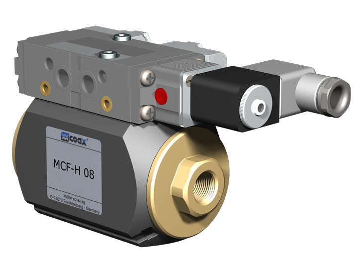 Co-ax Mcf-h | Vmk-h | Vfk-h High Pressure Coaxial Valves - Externally controlled valves