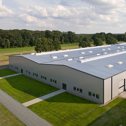 Constructions industrielles et structures de stockage - Systèmes de construction démontable - Constructions industrielles