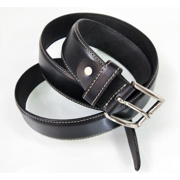 Leather belt - Leather grain belt for men
