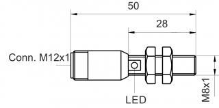 inductive sensor DC - KJ1,5-M8MB50-DPS-V2