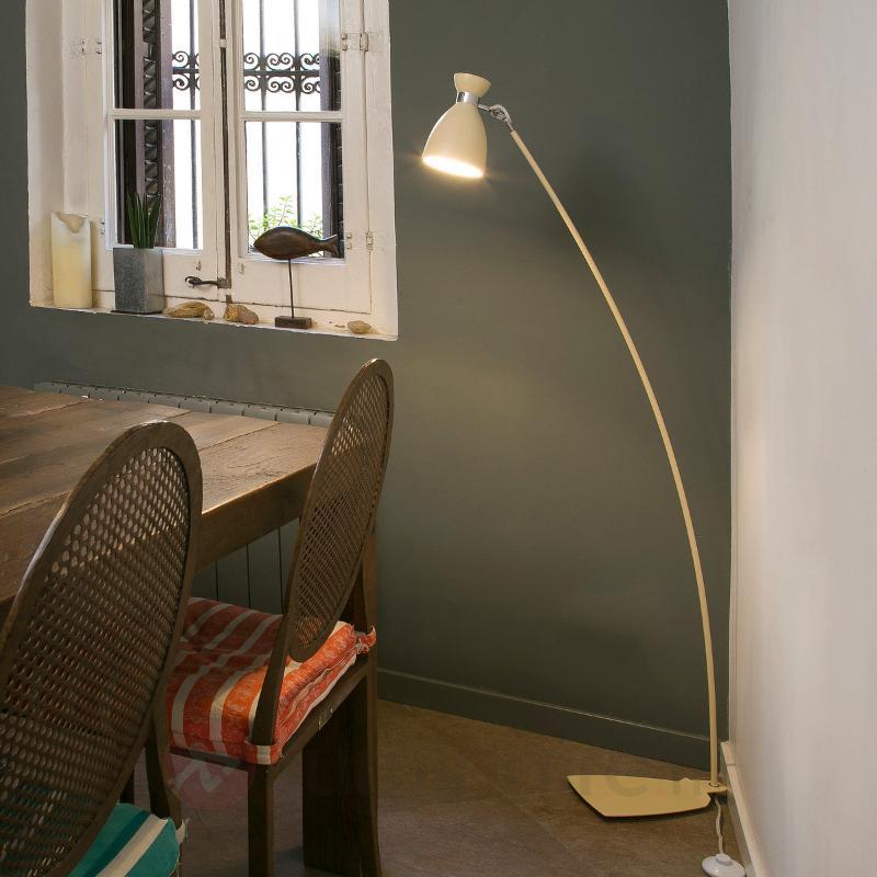 Lampadaire Retro beige - Tous les lampadaires