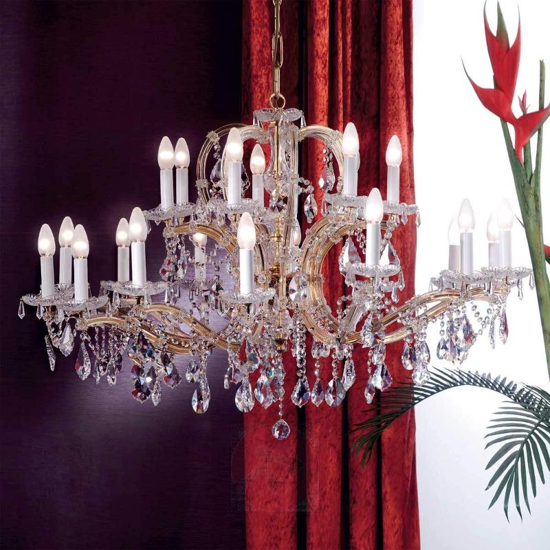 Tjura Chandelier Classical Style 110 cm - Chandeliers