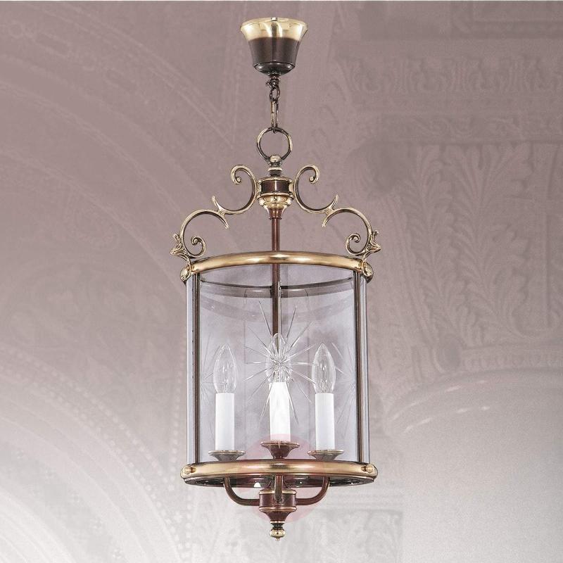 Lantern-shaped hanging light RAMIRA - Pendant Lighting