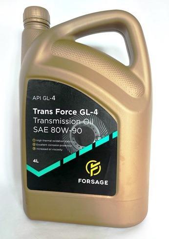 Multigrade oils  - Gear oil Forsage Trans Force GL-4 SAE 80W-90