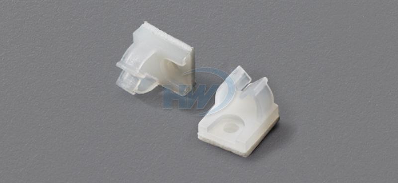 Wire Saddles - Self Adhesive, Polyamide,5mm Max. Bundle Dia.