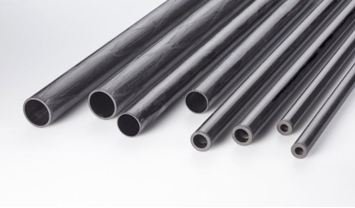 Tubo tondo Carbonio - Tubo tondo Carbonio Ø 50 / 45 mm