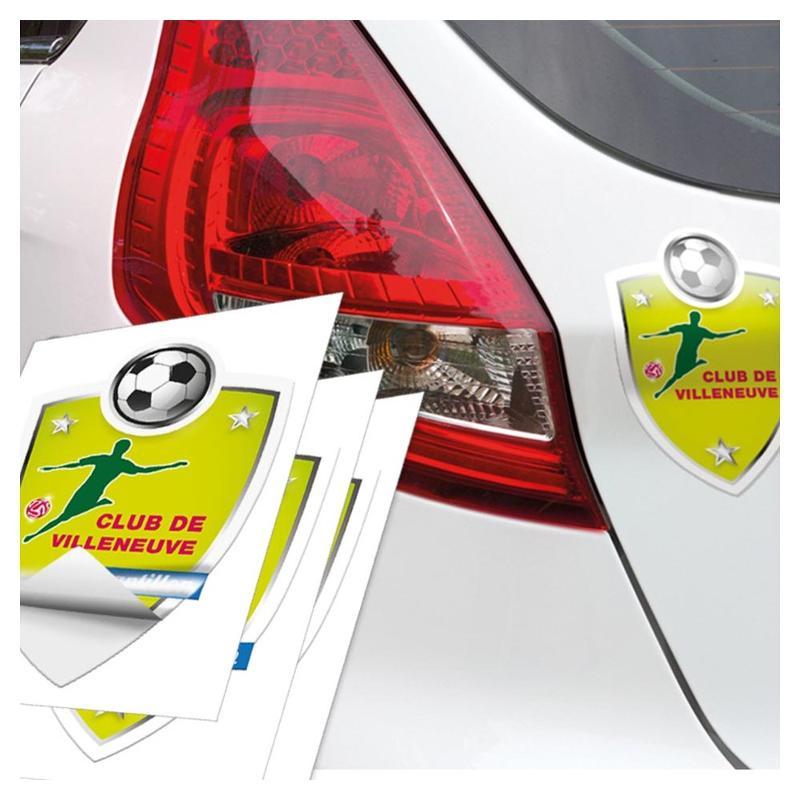 Stickers promotionnels - Etiquettes personnalisées multi-usages et synthétiques