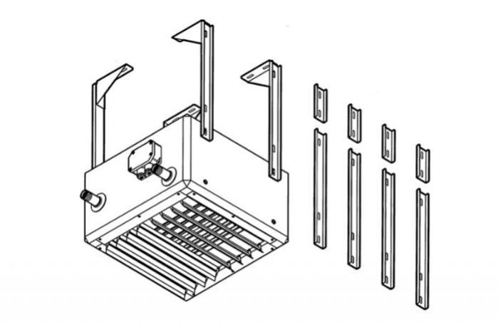 Aparaty grzewczo-wentylacyjne TIP - Aparaty grzewczo-wentylacyjne Urządzenia ścienne i sufitowe, proste rozwiązanie