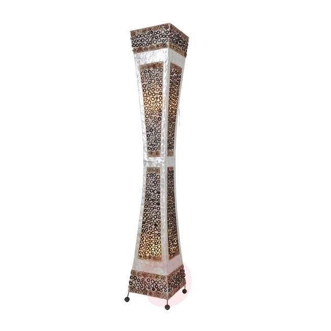 PAOLO floor lamp with graphic pattern - Floor Lamps