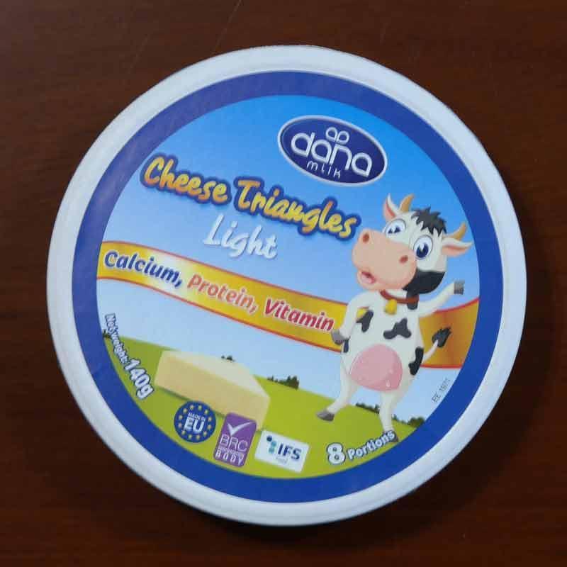 DANA奶酪 - 柔和的奶油味,可以被均勻涂抹