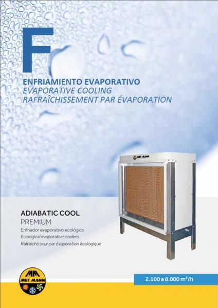 MODULO ADIABATICO ENFRIAR/HUMIDIFICAR - ADIABATIC COOL PREMIUM