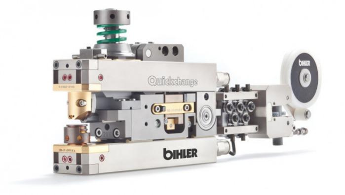 触点焊接单元——快速更换系统 - 触点焊接单元——快速更换系统