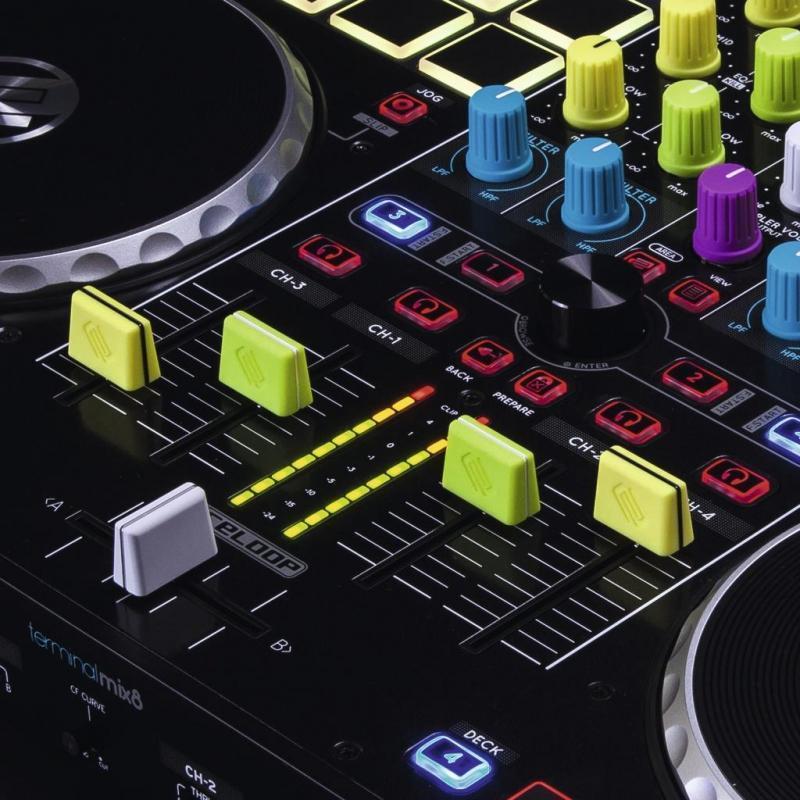 DJ-Zubehör - Reloop Fader Cap Set blue