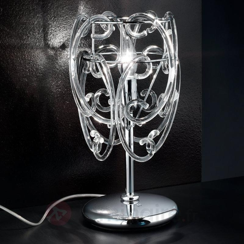 Lampe à poser Gemini en verre de Murano - Lampes à poser designs