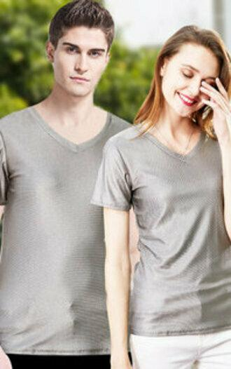 T-Shirt V-Ausschnitt Herren - null