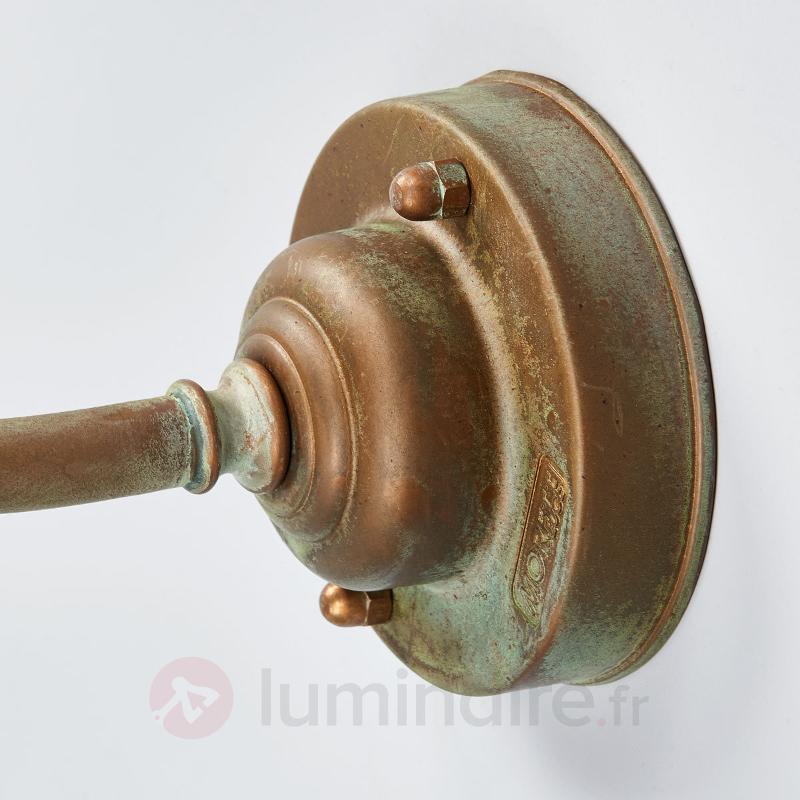 Applique d'extérieur courbée Birga - Appliques d'extérieur cuivre/laiton
