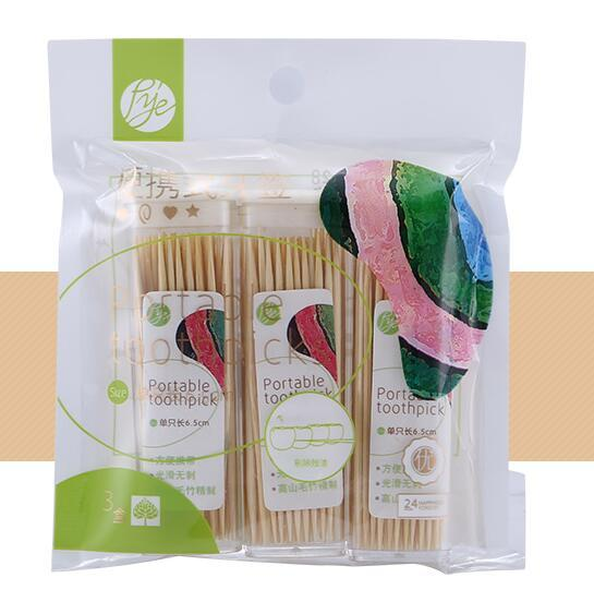Bottled toothpicks - Portable toothpicks