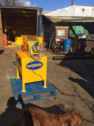 Re-conditioned machinery - SS170 - cable shredder re-conditoned