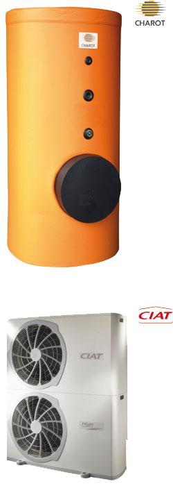 Chauffe-eau thermodynamique série +ECO DYN ATL ou INOX