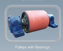 Pulleys with bearings - Belt Conveyor Accessories