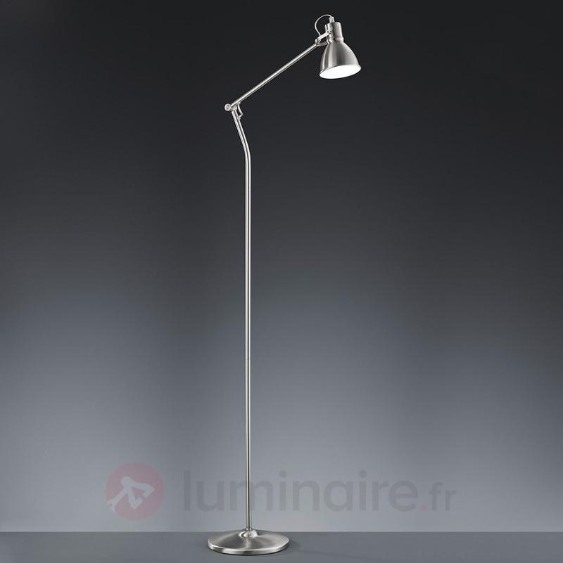 Lampadaire Keali nickel mat - Tous les lampadaires