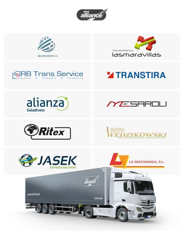 Efret EU Carriers Pan-European Alliance