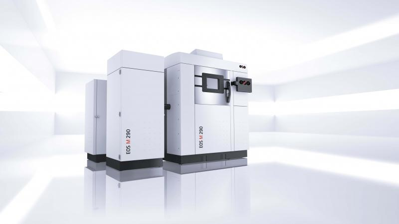 EOS M 290 - System for the Additive Manufacturing of high performance metal parts.