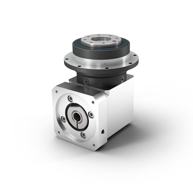 WPLFE - Right Angle Planetary Gearbox with Output Flange - Short - IP54