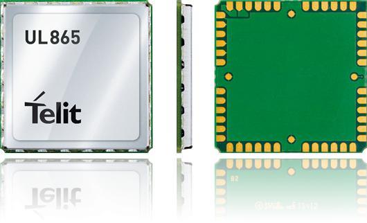 Telit 3G Module UL865-EUR, Fallback 2G - EMEA, APAC,