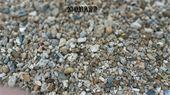 Graviers - Monard : Gravier de finition roulé marron mélangé à quelques