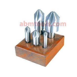 Six Flute Countersinks - HSS - Designed for economical, general purpose countersinking, chamfering or deburring