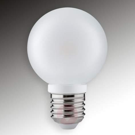 E14 4W 827 LED wind-blown candle bulb, satin - light-bulbs