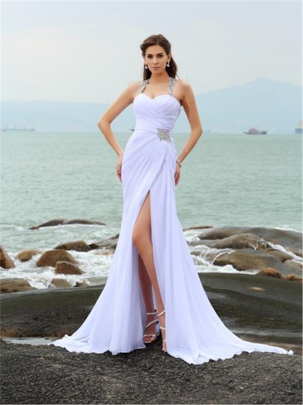 Monia - Simple Weddingdress