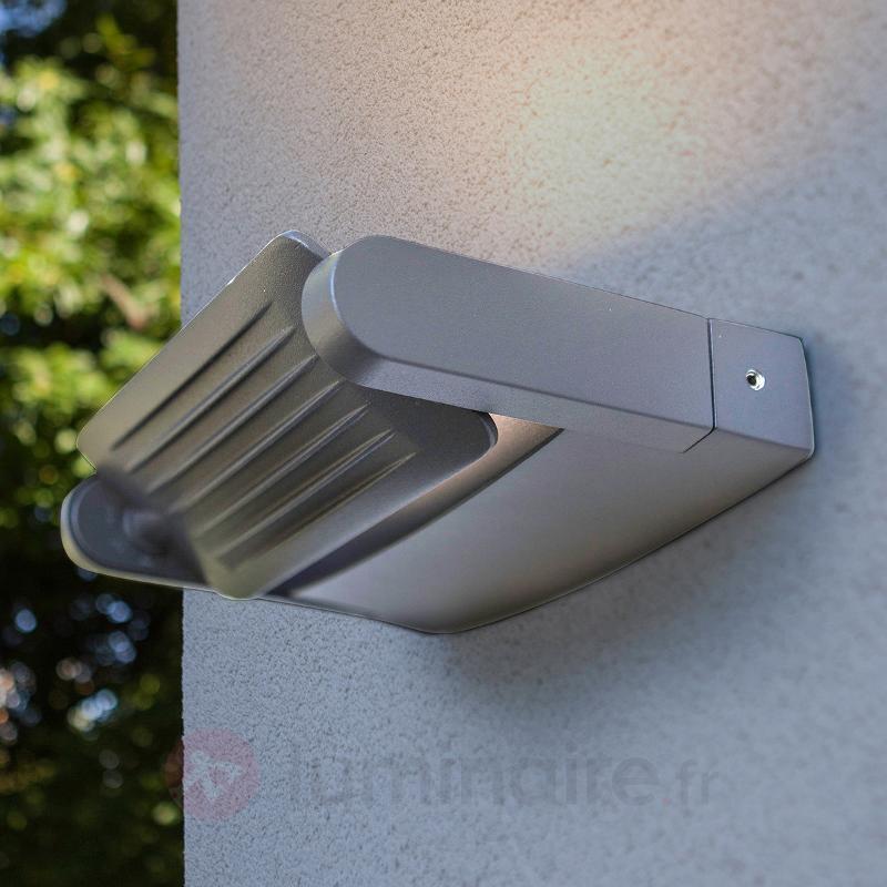 Projecteur d'extérieur Keiran 3 POWER-LED argenté - Appliques d'extérieur LED