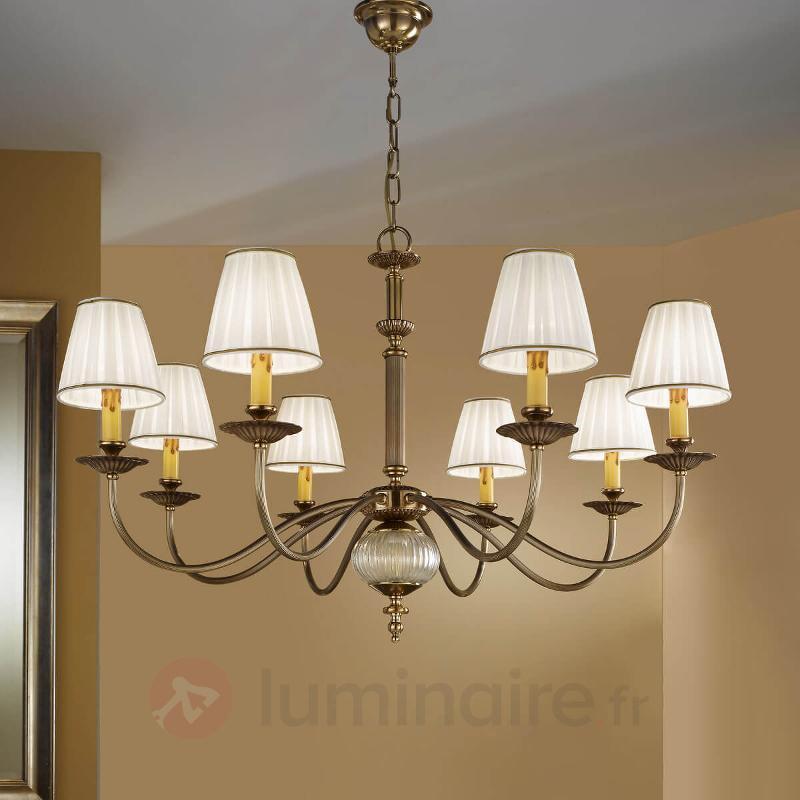 Lustre ASCOT 8 lampes - Lustres classiques,antiques