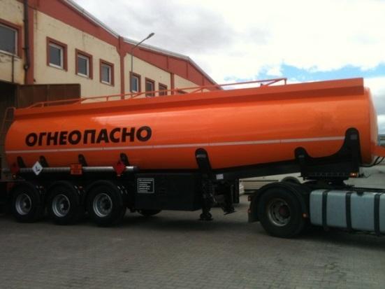 Fuel Tanker Trailer - Fuel Tanker Semitrailer with ADR