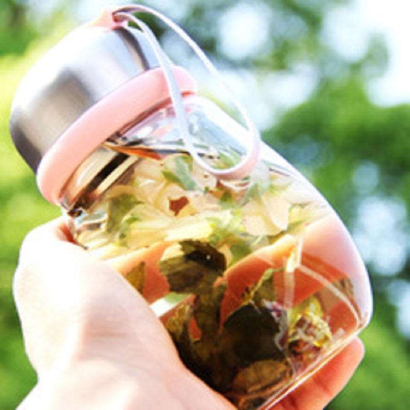 500ml boroslicate glass travel bottles - 500ml borosilicate glass travel bottles