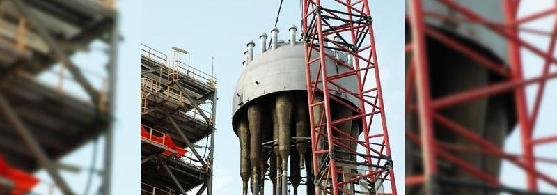 Réhabilitation d'unités pétrochimiques et de production d'énergie