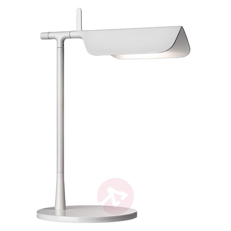 Innovative LED table lamp TAB T, white - Desk Lamps