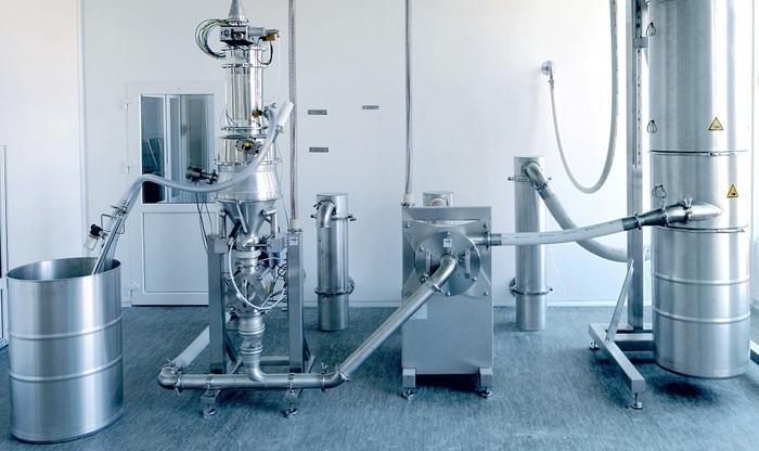 REKORD GMP-Feinmahlanlagen - für Pharma, Lebensmittel und Chemie