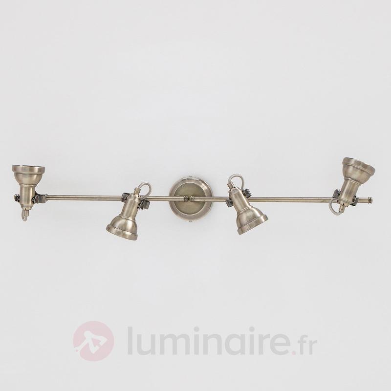 Plafonnier oblong Perseas, LED GU10 - Plafonniers LED
