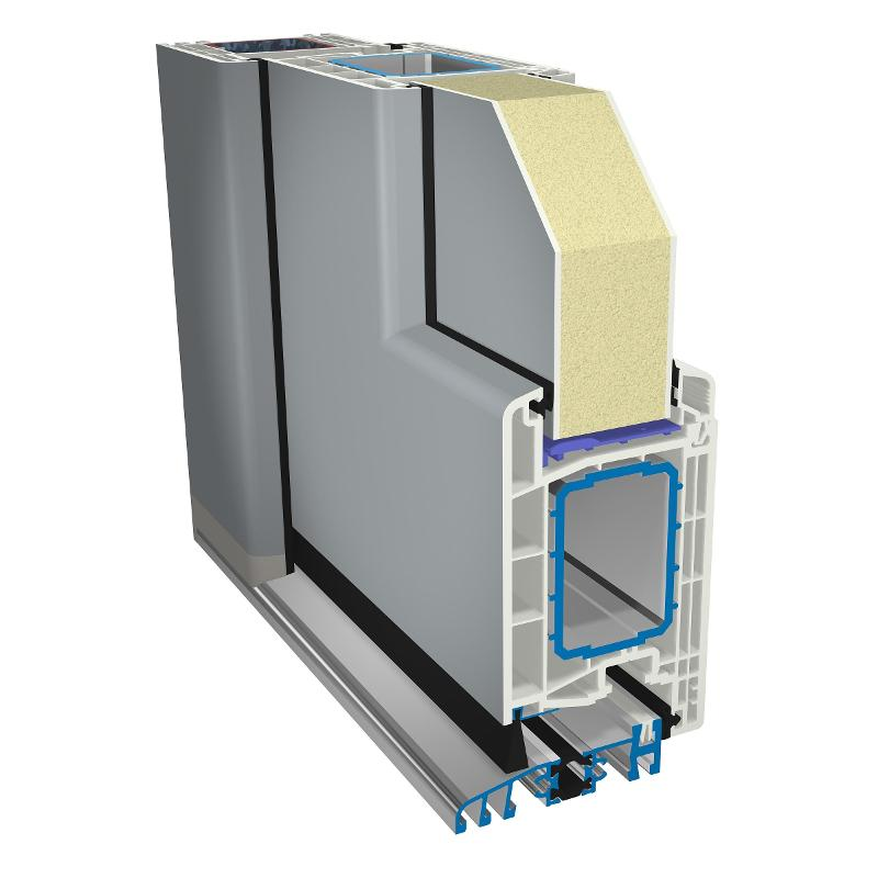 pvc-doors gealan front-door - pvc-joinery