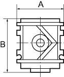 Start up valve variobloc , Size 2, G 1 - Start-up valves variobloc